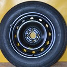 Fiat Stilo (030) 6.5x15 ET43 4x98 58mm Bridgestone 195/65 R15 (DOT3702) 8000ft